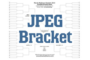 NCAA Printable Bracket 2019 -- Free March Madness Brackets